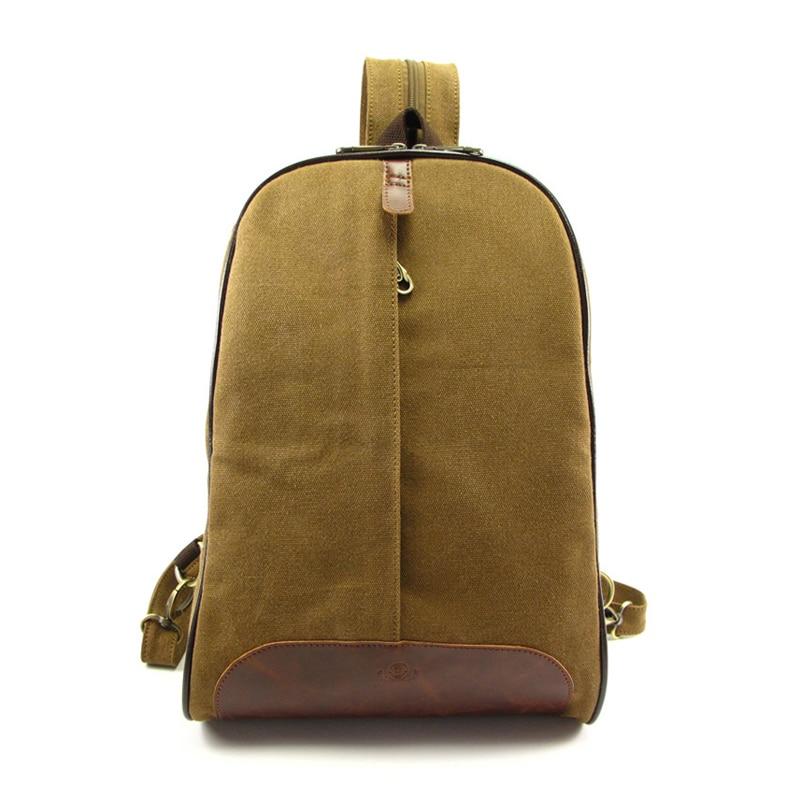 Ms. canvas bag canvas backpack vintage wholesale trade shoulder brown canves bag students school bags<br><br>Aliexpress