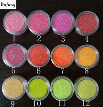33Colors For Choose,Flash UV Nail Glitter Powder Sheets Tips For Nail Art Decoration,holographic Glitter Powder Dust 3D Tips(China)