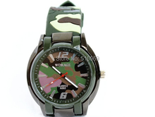 100/pcs WoMaGe Genuine Factory Direct Wholesale brand watches Men Watch sports Watch dark green camouflage(China)