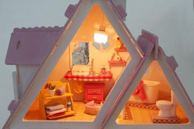 13007 DIY doll house gift (2)