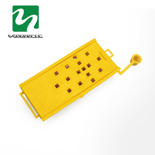 100pcs Bee House Queen cage Beekeeping Bee transport cage Mailing Bee Beehive 8 * 3.8 * 1.2 CM Yellow