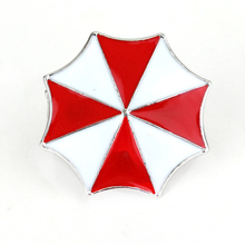 Wholesale Resident Evil Brooch Pins Umbrella Company Logo Brooches For Men Boys Fashion Jewelry Accessories broches Gifts 2017(China)