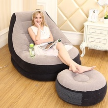 4721 folding bed computer lazy bean bag inflatable sofa chair window(China)