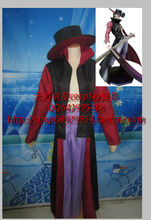 Free shipping One Piece Cosplay Dracule Mihawk Cosplay Costumes