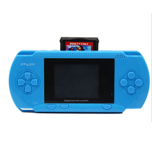 Light Blue PVP Game Console Handheld Portable Game Player Pocket Video Game Console Gift Toys for kids Retro 8 Bit Game
