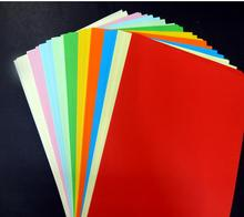 A4 Colorful paper scrapbooking Paper Craft DIY  80gsm A4 multicolour uncoated paper 100sheets/lot