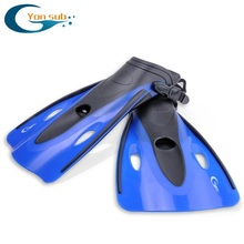 YonSub Swimming Training Fins Adjustable Diving Short Adult Children Fins Flippers Snorkeling Equipment Sambo(China)