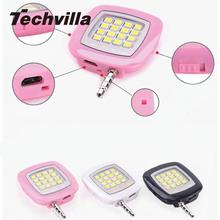 Techvilla Mini Convenient LED Lamp Camera Fill-in Light Flash For Cell  Phone Tablet Selfie Tool Accessories High Quality Useful