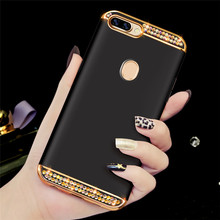 P Smart Plus Moda Glitter Bling Case for Huawei Y6 Y7 Prime 2018 Y9 2019 Y5 2017 P20 Honra 7a pro 7x 6c 7c 8 9 10 cobertura lite(China)