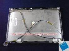 "Used  Laptop Notebook  13.3"" LCD Back Cover wp899 0wp899 For Dell XPS M1330 Blue"