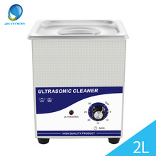 Ultrasonic Bath Cleaning Machine Baskets Jewelry Watches Dental PCB CD Glass 60W 40kHz Ultrasound Cleaner Ultrasonic Cleaner 2L