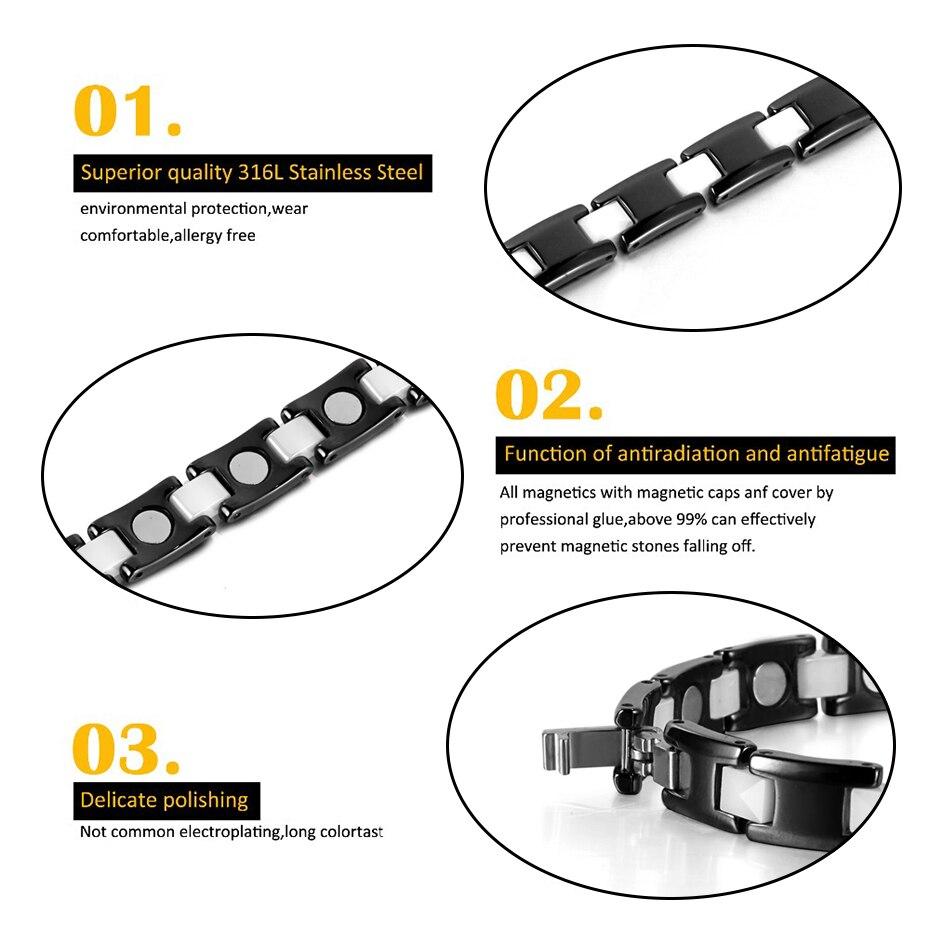 Ceramic Hematite Bracelet Bangle ORB-216-2