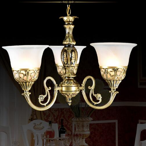 1/3/5/9 heads European Home Pendant Lights for living / dining room / bedroom Pendant lamp glass lampshade <br>