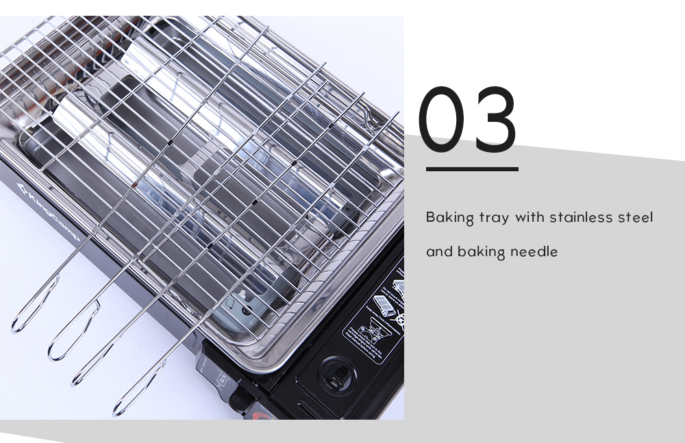Gas Stove Portable Picnic Cooking BBQ 5