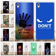 Fashion Back Painted Soft TPU Back Cover for Sony Xperia Z5 Premium Cell Phone Protective Case for Sony Z5 Plus Silicon Cover