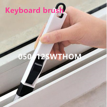 12pcs/lot Multipurpose Window Groove Cleaning Brush Nook Cranny Household Keyboard Home Kitchen Folding Brush Cleaning Tool(China)