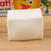 1 PC Anti Stress Face Reliever Bun Baozi Tofu Squeeze Decompression Water Ball Toys Funny Tricky Vent Toys(China)