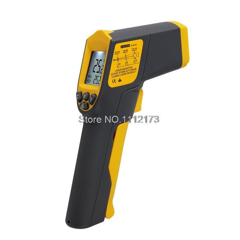 TASI-8608 -32C~530C(-25.6F~986F) Non-contact Infrared Thermometer Industrial Thermometer Infrared Gun Infrared Thermometer<br><br>Aliexpress