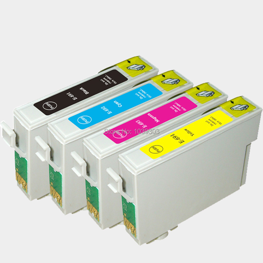 4Color T0691 T0691-T0694 ink Cartridge Compatible for Epson NX 415 NX 510 NX 515 CX 5000 6000 7000F Printer(China (Mainland))