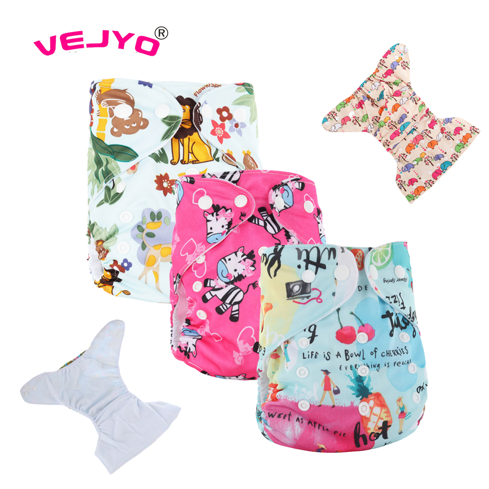 20pcs/lot Adjustable Size PUL Waterproof Diaper Cover Newborn Baby Washable Reusable Pocket Cloth Diapers Nappies All in One