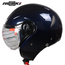 NENKI Chopper Motorcycle Helmets Motocross Racing Helmet Off Road Motorbike Half Open Face Motorcross Helmet Casque Motocross