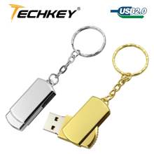 Hot Selling free shipping 32GB 16GB 8GB USB Drive Flash Stainless Steel USB 2.0 Flash Memory Pen Drive  pendrive