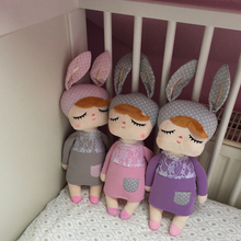 Cute Metoo Angela Dolls ins Unique High Quality Sweet  Rabbit Toys Baby Plush Stuffed Toys kids Birthday/Christmas Gift