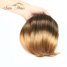 Suri Hair Clip In Ponytails Short Elastic String Pony Tail Frested Hair Extensions For Women Synthetic Hair Nine Colors 8 Inch(China)