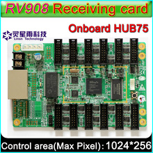 LINSN RV908 receiving card LED Display control system,Suggest 1/32 Scan Full-color P2.5 P3 P4 P5 P10 LED Module