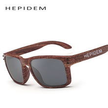 HEPIDEM Women Brand Designer Men's Wood Grain Sunglasses Men Sports Mirror Square Ok Quality Sun Glasses for Women cheap china
