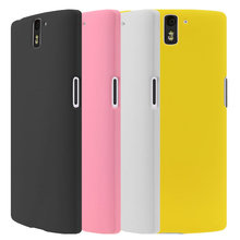 2017 New 6 Colors Oneplus One Phone Colorful Frosted Hard Back Case Cover for One Plus One Hot Selling Pouch Bags Discount Cheap