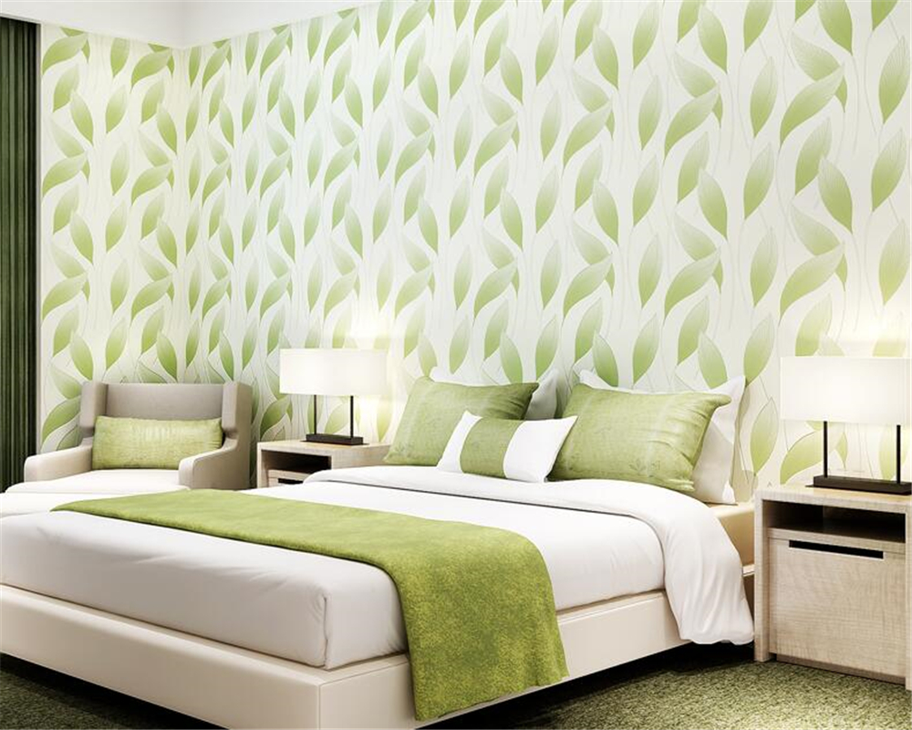 beibehang Fashion Modern 3D Relief Leaves Nonwovens Wall paper Living Room Bedroom TV Background papel de parede 3d Wallpaper <br>