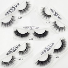 Visofree Mink Eyelashes Long Thick Dramatic Lashes Handmade Mink Fur False Eyelashes For Makeup 1 Pair Pack