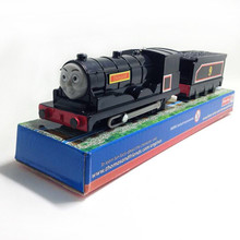 Electric Thomas and friend Donald with one carriage Trackmaster engine Motorized train Chinldren kids toys with package