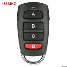 High quality Universal 4 Button Cloning 433MHz Smart Electric Garage Door Car Remote Control Key Replacement