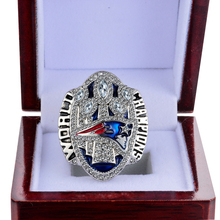 Dropshipping Replica 2017 patriots Super Bowl LI 2016 New England Patriots Tom Brady Number 12 Championship Ring Size 6-14(China)