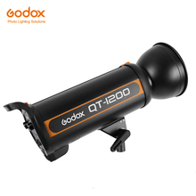Godox QT Series QT1200 1200WS High-Speed Photography Studio Strobe Flash Modeling Light Recycling Time 0.05-1.5s(China)