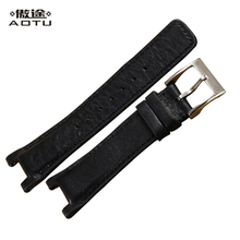 Genuine Leather Watchbands For Gucci Men Watch Luxury Leather Watch Straps 20 X 12mm Ladies Watch Bracelet Belt Clock Band Women(China)
