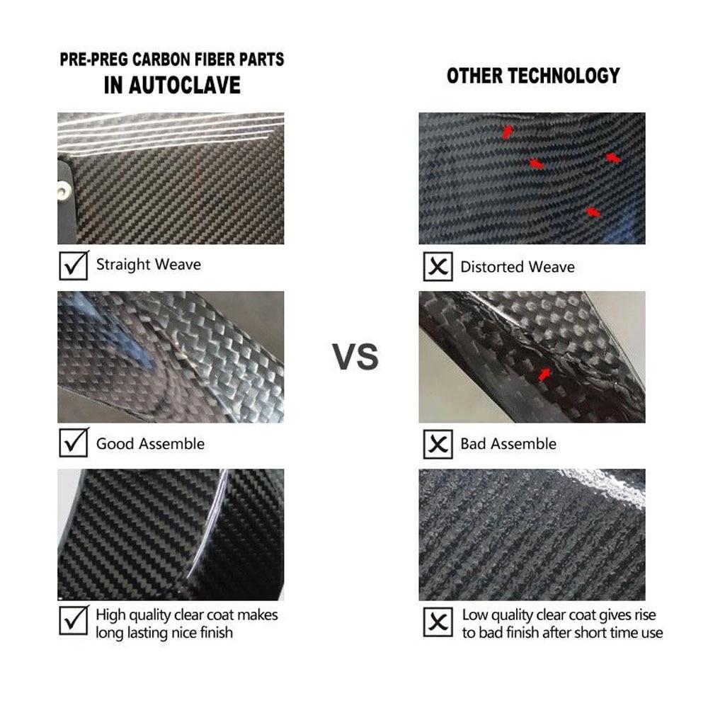 Upper Center Gas Tank Cover Panel Carbon Fiber for Kawasaki Z1000 2014-2016