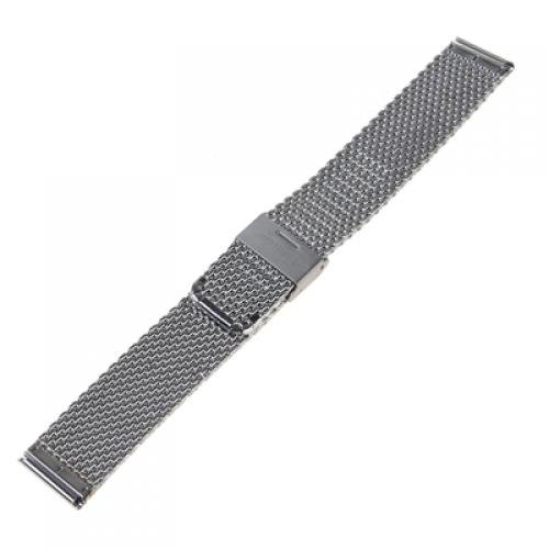 10x( 2016 Silver Tone Stainless Steel Watch Mesh Strap- 22mm<br>