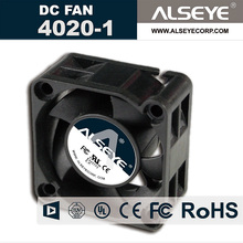 ALSEYE 4020 DC cooling fan 12v 0.16A 6000RPM hydraulic bearing mini cooler 40mm fan radiator 40 x 40 x 20mm high quality fan(China)