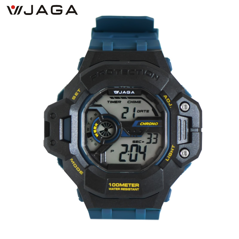 JAGA Mens Military Watch Sports Watches Diveing Climbing LED Digital Watch Fashion Outdoor Men Wristwatches M1120<br>