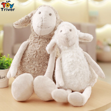Quality 35cm Plush Sheep Lamb Couples Toy Stuffed Dolls Baby Kids Girl Kawaii Birthday Gift Home Shop Decor Korean Japan Style