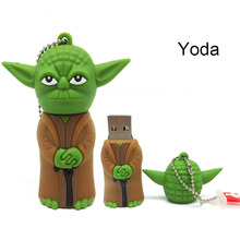 star wars Pen Drive full capacity 4GB 8GB USB Flash Drive dark Darth vader 16GB 32GB Yoda Pendrive USB 2.0 Memory Stick u Disk