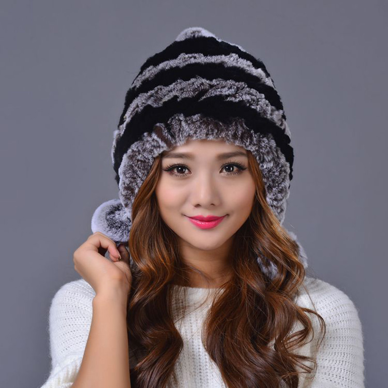 Real mink fur hat hot 2016 winter beanies fur hat for women knitted mink fur hat with fox fur casual womens hat de polarisОдежда и ак�е��уары<br><br><br>Aliexpress