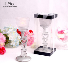 Free Shippig Love Candle Holder Wedding decoration Home Decoration Accessories Wedding Favors And Gifts