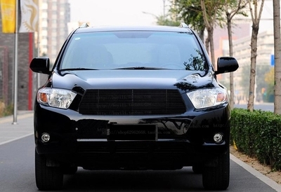 high quality aluminum Front Grille Around Trim Racing Grills Trim 1PCS Black for 2009-2011 Toyota Highlander<br><br>Aliexpress