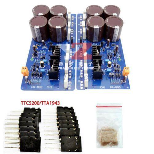 PR-800 Class A /AB Professional power amplifier board no heatatsink) CL135<br><br>Aliexpress