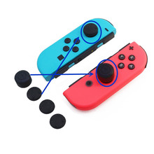 Buy 6pcs/lot Nintend Switch Silicone Rubber Soft Analog Grip Thumbstick Button Cap Cover Nintendo Switch NS NX Accessories for $2.84 in AliExpress store
