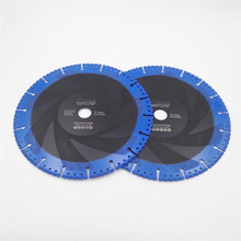 DIATOOL 2pcs 230MM Vacuum Brazed Diamond Demolition Blade Body Coated Better Performance Cutting Disc For Multi Purpose(China)